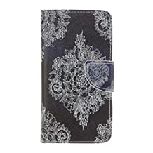 Alcatel One Touch Idol 3 (4.7 inch) Case, Colorful Pattern Leather case , Calendula officinalis@ Flip PU Leather Card Holder Case Wallet Cover with Stand for Alcatel One Touch Idol 3 (4.7 inch)