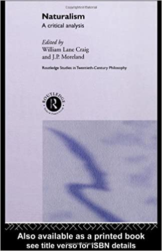AmazonCom Naturalism A Critical Analysis Routledge Studies In