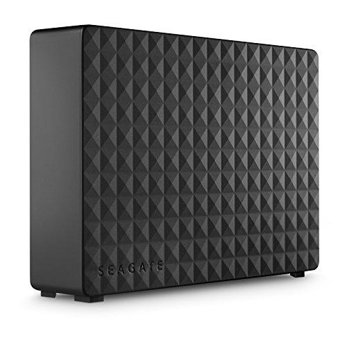 Seagate Expansion Desktop, 6 TB, Disco duro externo, HDD, USB 3.0 para PC, ordenador portátil y Mac, 2 años de servicios…