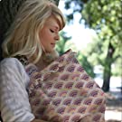Hooter Hiders Cotton Nursing Cover - Namotu Pink