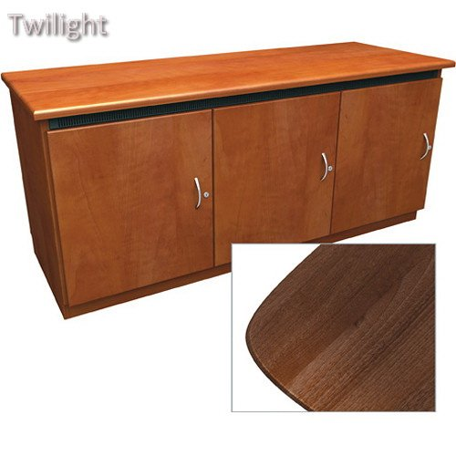 Middle Atlantic Contemporary-Style Finishing Kit for Deep Credenza Rack (Dark - Credenza Middle Atlantic