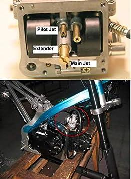 Pilot Jets Pack of 10 Slow Jet Carburetor Idle Kit for PWK Keihin OKO CVK #32,35,38,40,42,45,48,50,52,55 by Vautoparts
