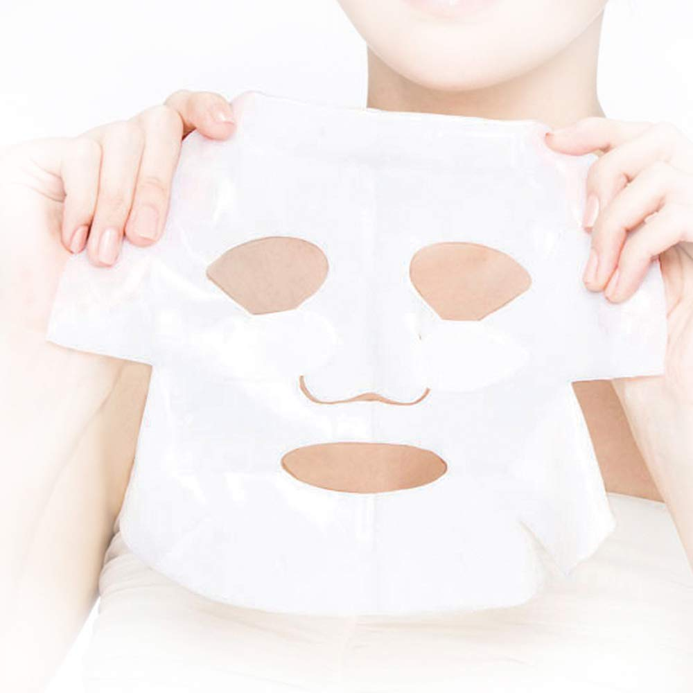 FOR BELOVED ONE Hyaluronic Acid GHK-Cu Moisturizing Bio-Cellulose Facial Treatment Mask (33g x 3pieces/box) : Beauty
