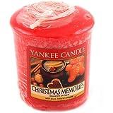 Yankee candle 1275319E Bougie votive senteur Souvenirs de noël 49 g Orange