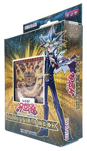 Yu-Gi-Oh! Konami Yugioh Card Structure Deck OCG 40 Cards MILLENNIUM DECK Korea Version (Yugioh Cards Exodia)