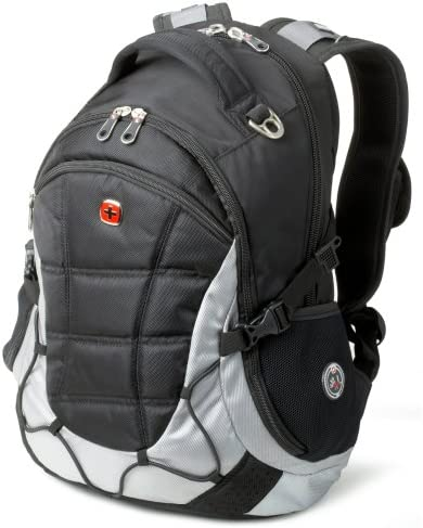 Swiss Gear SwissGear SA9769 Black with Light Grey Laptop Computer Backpack  - Fits Most 15 Inch Laptops and Tablets  Amazon.in  Electronics e44c3623a3c0d