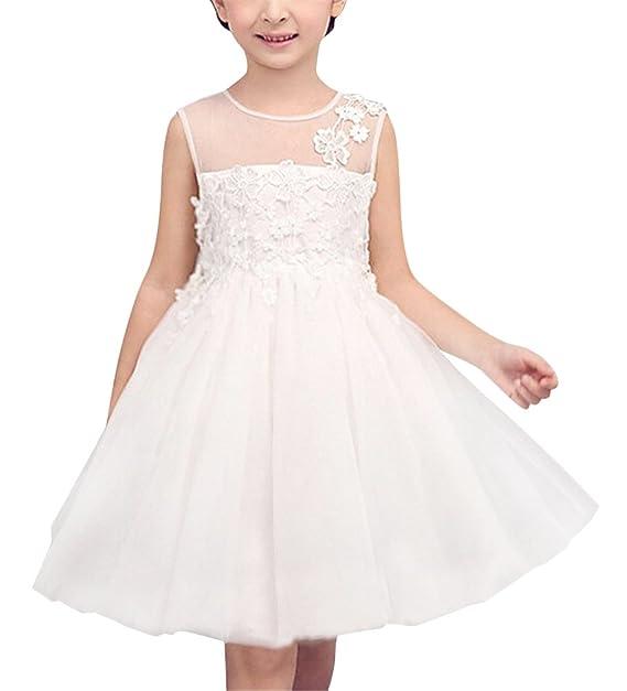 SMITHROAD SMITHROAD Kinder Mädchen Prinzessin Spitze Tutu Kleid ...