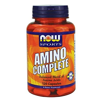 NOW Sports - Amino Complete - [120 Capsules]