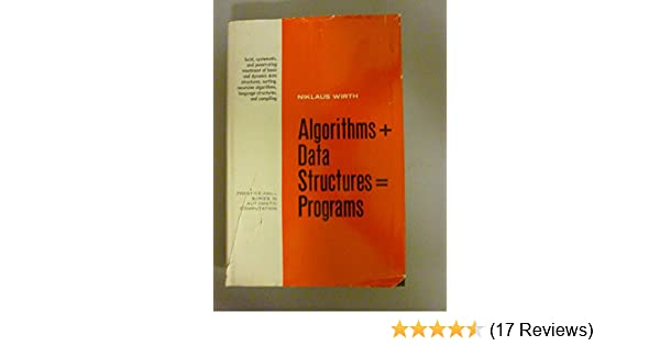 Algorithms + Data Structures = Programs (Prentice-Hall