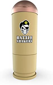 Battle Shakers Bullet Shaker Cup | 20 Oz Leak-Proof Shaker Bottle | Protein Cup with Storage Compartment | Dishwasher Safe & BPA Free Sports Bottle