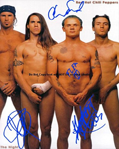 Red Hot Chili Peppers Autographed Preprint Signed 11x14 Poster Photo (Chili Peppers Collectibles)