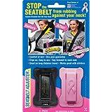 Masterlink Marketing 296-nbcf Seatbelt Adjusters, Black/Pink, Pack of 2