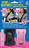 Toilet Seat Booster Masterlink Marketing 296-nbcf Black/Pink Seatbelt Adjuster, (Pack of 2)