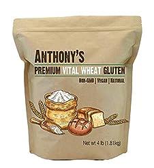 Anthony's Vital Wheat Gluten Natural, 4l...