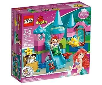 lego duplo princesse 10515 jeu de construction le chteau de la petite sirne