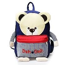 Toddler Kids Backpack 3D Zoo Animal Cartoon Pre School Dog Backpack