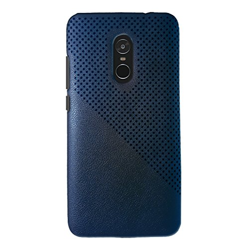 Kapa Dotted Premium Protective Leather Back Case Cover for Xiaomi Redmi Note 4  Indian Version    Blue