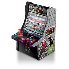 "My Arcade Bad Dudes Micro Player 6"" Collectable Arcade"