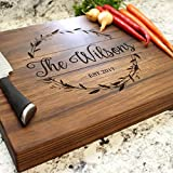 Rosemary Garland Personalized Chopping Block Engraved W-040 GB Deal (Small Image)