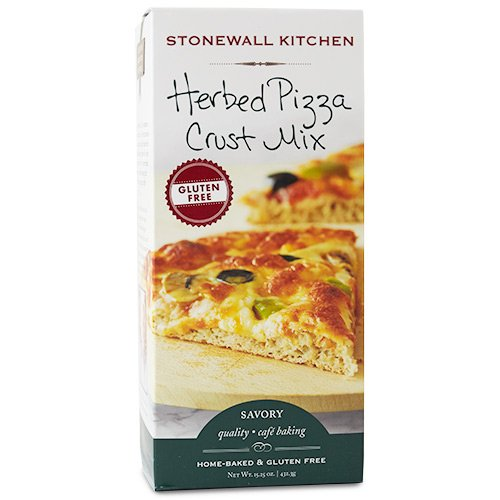 Stonewall Kitchen Gluten-free Herbed Pizza Crust Mix, 15.25 Ounces
