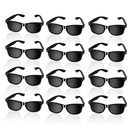 Black Sunglasses Bulk - WXJ13 12 Pack Black Sunglasses Classic