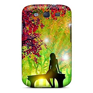 Premium XDI7432QrEm Case With Scratch-resistant/ 3d Tree Case Cover For Galaxy S3