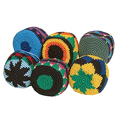 Hacky-Sack Boota Footbags, Set of 6: Industrial & Scientific