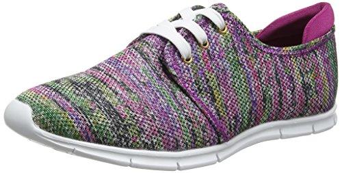 Lotus 50804, Zapatillas Mujer Multicolor (Pink Multi)