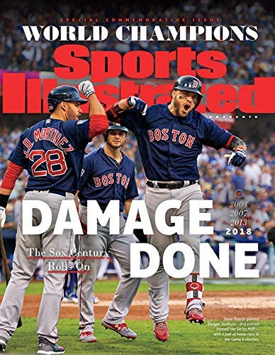 Sports Illustrated Magazine World Series Champions 2018 Boston Red Sox Damage Done Special Commemorative Issue