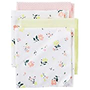 Carter's Baby Girls' Receiving Blankets D06g003, Print, One Size