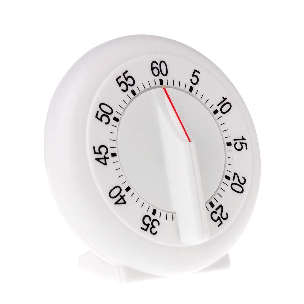 Fogun - Temporizador de cocina, 60 minutos, recordatorio mecánico, contador de horno, horneado