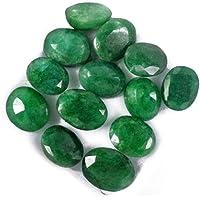 Offerta speciale Smeraldo colombiano da 60 Ct - 12 pezzi naturali taglio ovale smeraldo con gemme di pietre preziose