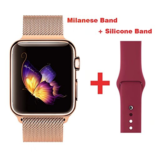 greatou-band-for-apple-watch-series-1-2-3milanese-mesh-stainless-steel-loop-wrist-strap-replacement-