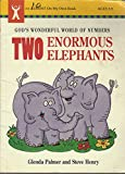 Two Enormous Elephants: God's Wonderful World of Numbers (An Almost on My Own Book) 0781407095 Book Cover