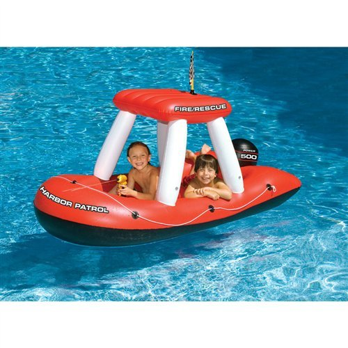 Fire Boat Squirter Pool Toy Quantity: 1-Pack ()