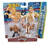 WWE Rumblers Christian and Alberto Del Rio Figure 2-Pack