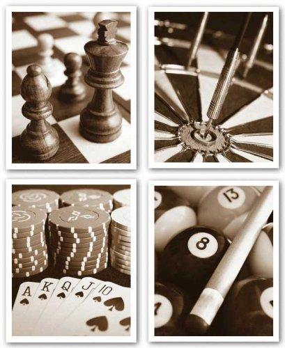 Pool - Chess - Darts - Poker Set by Boyce Watt 11