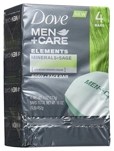 Dove Care Elements Minerals Ounce