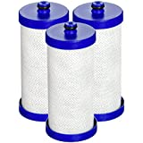 Waterdrop WF1CB Replacement Refrigerator Water Filter, Compatible with WF1CB, WFCB, RG100, NGRG2000, WF284, 9910, 469906, 469910 (3 Pack)