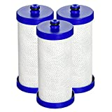 Waterdrop WF1CB Refrigerator Water Filter Replacement for WF1CB, WFCB, RG100, NGRG2000, WF284, 9910, 469906, 469910 (3 Pack)