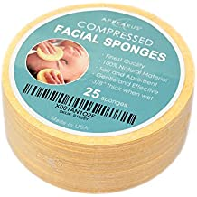 Appearus Compressed Cellulose Facial Sponges (25 Count) (Natural)