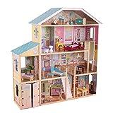 KidsKraft 34 Piece Majestic Mansion Dollhouse Furniture Kids Play Set Toys for Girls