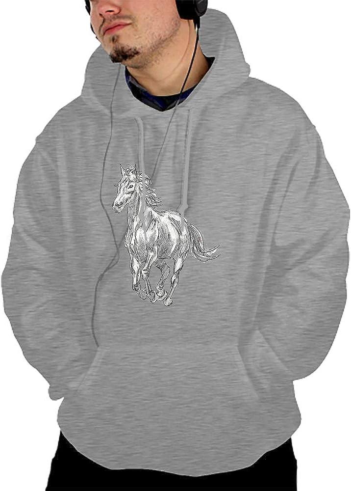 Mens Hoodies Sweatshirt Ghost Wolf Formline Long Sleeve Pullovers Tracksuit T Shirts