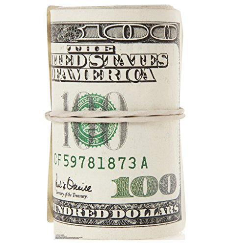 Roll of $100 Bills - Advanced Graphics Life Size Cardboard Standup