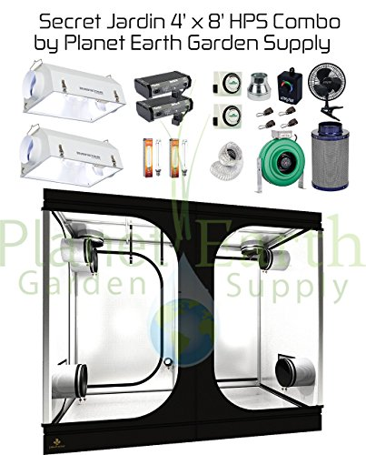 Secret Jardin Grow Tent (4' x 8') HPS Combo Package #7