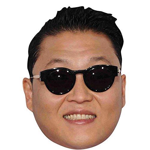 PSY Celebrity Mask, Card Face and Fancy Dress Mask