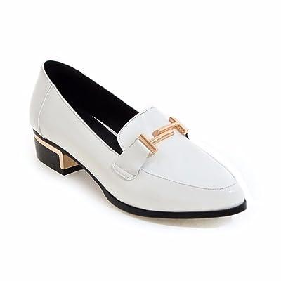 RFF-Women's Shoes L'Europe et les Etats-Unis Chaussures Basses, Chaussures Grande École, Vent, Chaussures Femmes,Blanc 40