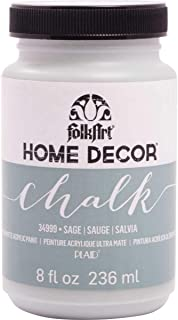 product image for FolkArt Home Decor Chalk Furniture & Craft Paint in Assorted Colors, 8 ounce, Sage