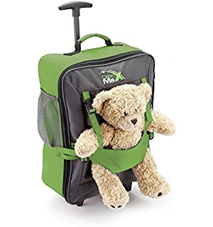 Cabin Max Bear Childrens Luggage Carry on Trolley Suitcase
