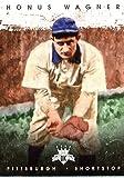 2016 Panini Diamond Kings #7 Honus Wagner Pittsburgh Pirates Baseball Card in Protective Screwdown Display Case
